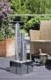 Градински фонтани от полирана стомана